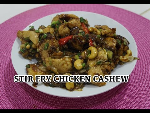 Chinese Stir Fry Chicken & Cashew Recipe - Easy Hot Wok