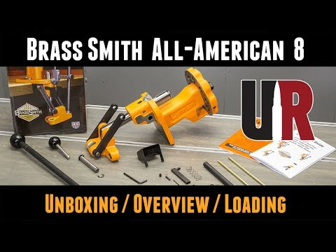 First Look: Brass Smith All-American 8 Turret Press from Lyman