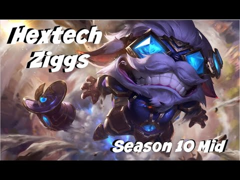 League of Legends: Hextech Ziggs Mid Gameplay