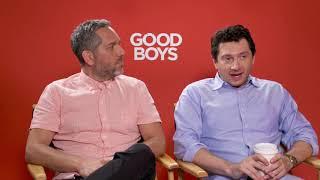 Good Boys: Gene Stupnitsky & Lee Eisenberg Official Movie Interview