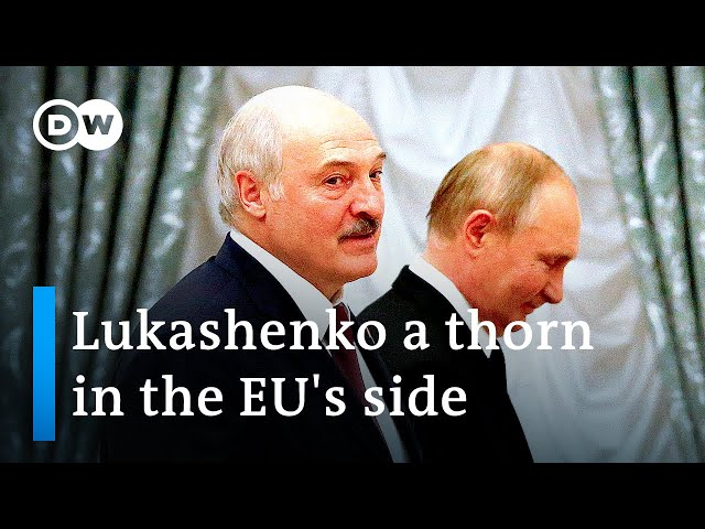 EU leaders debate migration amid Belarus 'state-sponsored smuggling' | DW News