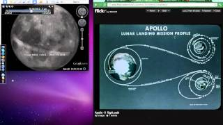 """Moon Base evidence supported by supposed Apollo 11 """"2 minutes of silence"""" and flight path"""