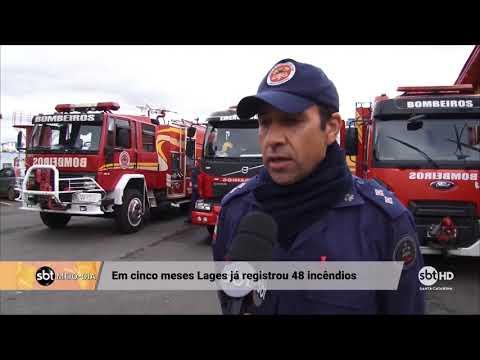 Em Lages, aumento no número de incêndios alerta para cuidados com aquecedores