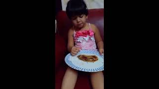 Viral Video Of Baby Girl | Eating While Sleeping | Shrestha Naidu | Universal Entertainments