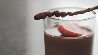 Mousse de Chocolate Amargo - Chef Diego Lozano