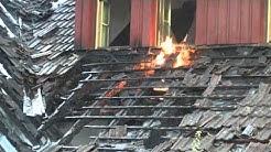 Großbrand in Waldshut-Tiengen zerstört Ehemaliges Bauernhaus