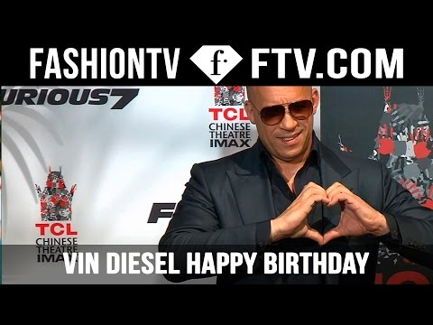 Vin Diesel Happy Birthday - July 18 | FTV.com