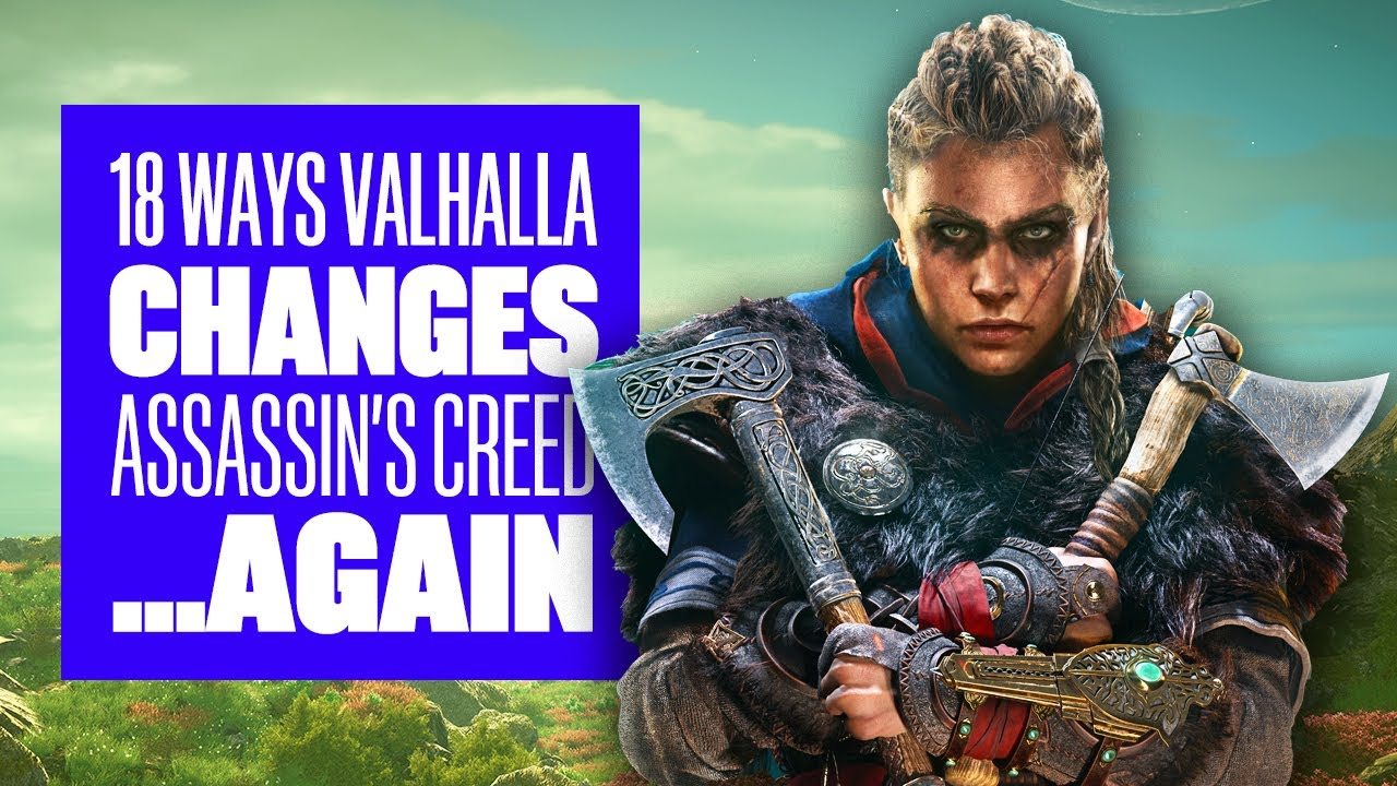 Assassin S Creed Valhalla Shows How You Switch Between Male And