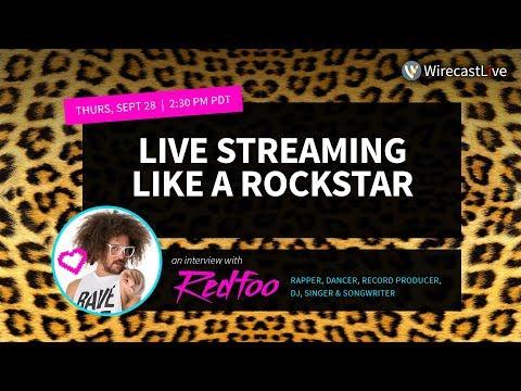 Live Streaming Like a Rock Star