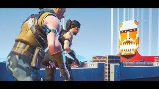 【フォートナイト】クリエイティブで進撃の巨人を再現 グラップラーで立体機動 アニメOP風に紹介 島コード付き Fortnite Creative  Attack on Titan