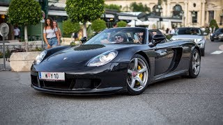 LOUD Porsche Carrera GT with Straight Pipes - Powerslide & Accelerations !