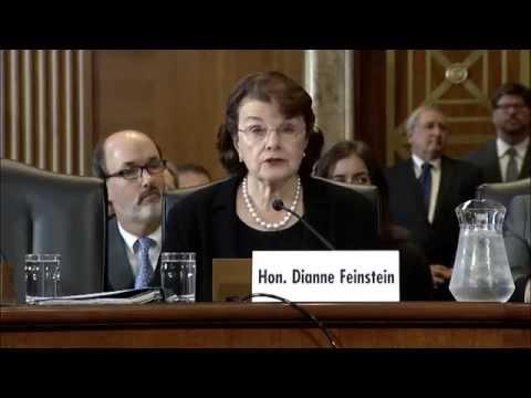 Senator Feinstein on Drought Relief Bill
