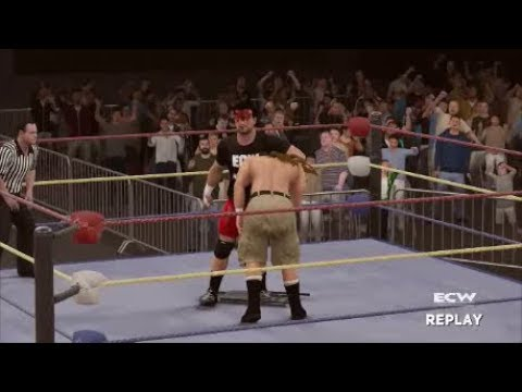 ECW Hardcore TV Episode 25 December 1994 (WWE 2K17 Universe)