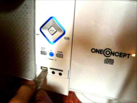oneConcept V 12 Stereoanlage