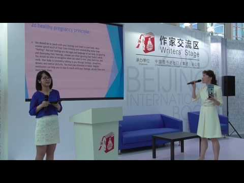 Beijing Book Fair presentation: Healthy pregnancy from beginning to end by Dr. Irina Webster