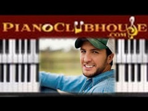 How To Play Play It Again By Luke Bryan Piano Tutorial Lesson