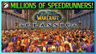The biggest speedrunning race ever: WoW Classic