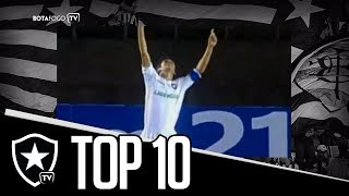 Top 10 Golaços Lucio Flavio | Botafogo TV / TV Paraná