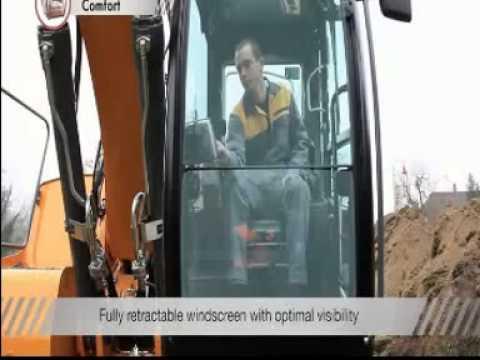 Liebherr R918, R920 and R922 crawler excavator