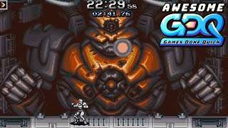Blazing Chrome by ThePoloKing in 26:19 - AGDQ2020
