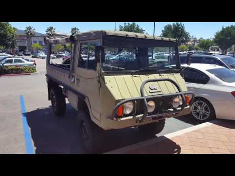 Pinzgauer 710 High-Mobility All Terrain Vehicle