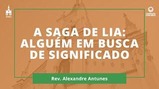 Rev. Alexandre Antunes - Conexão com Deus - 26/10/2020