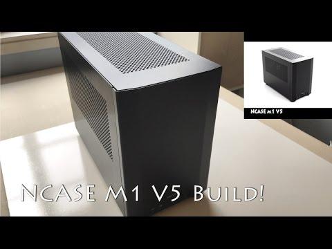 NCASE M1 v5 Build! ASUS Z270I, 7700k, 1TB 960 PRO, STRIX GTX 1080!