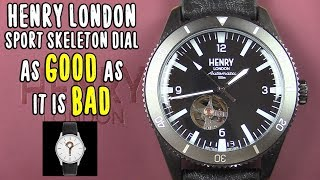 Henry London Sport Skeleton Dial - As GOOD as it is BAD [ Should I Time This ]
