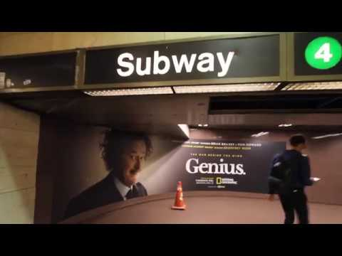 National Geographic's Genius | Grand Central Station Domination