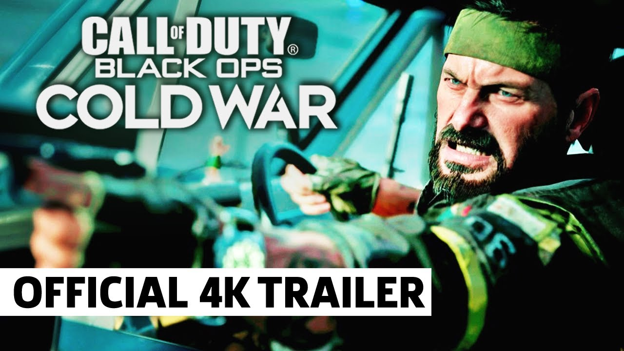 Call Of Duty Black Ops Cold War Official Reveal Trailer Youtube