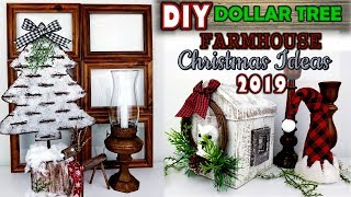 DOLLAR TREE DIY | SLOTTED GALVANIZED CHRISTMAS TREE |  FARMHOUSE CHRISTMAS DECOR IDEAS 2019