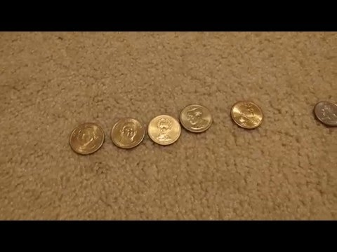 Killing the dollar bill with dollar coins part II( I hate pennies)