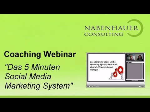 Social Media - Das 5 Minuten Social Media Marketing System - Der SocialMedia Club - R. Nabenhauer