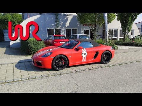 2017 Porsche 718 Boxster S PDK tuned by MTM - WR TV POV Test Drive and Review!