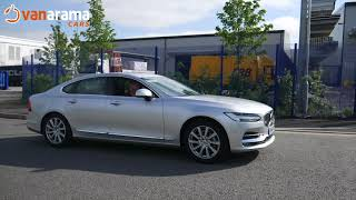 The Volvo S90 review in just under two minutes