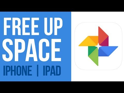 Free Up Space on your iPhone & iPad - Google Photos