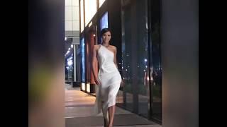 Hoa hậu H'Hen Niê trổ tài catwalk trên đường phố Sài Gòn   Miss Universe Vietnam
