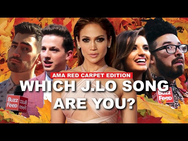 Celebs Find Out What J.Lo Song They Are