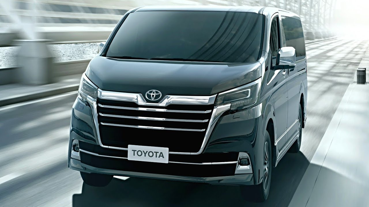 Best Minivans 2020.2020 Toyota Granvia Toyota 8 Seater Luxury Van All New Toyota Granvia 2020