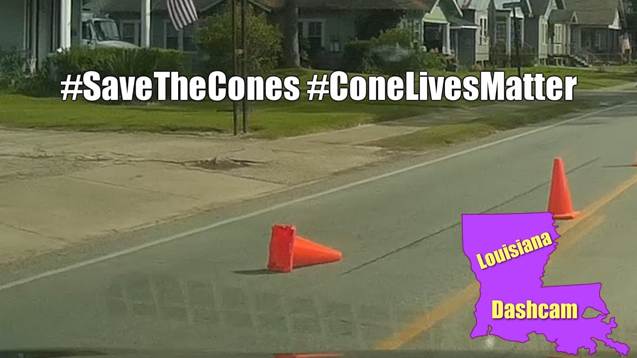 maxresdefault he ran over the cone!! savethecones conelivesmatter youtube