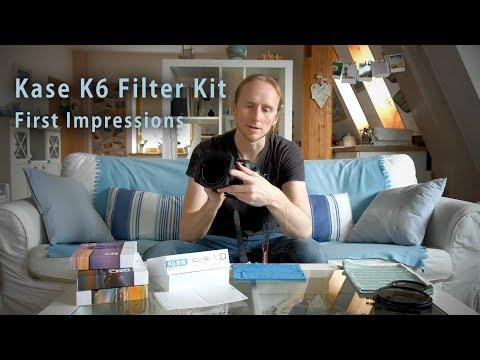 Kase K6 Filter Kit - First Impressions