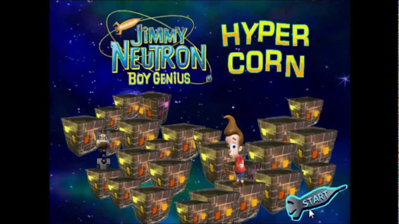 The Adventures Of Jimmy Neutron Boy Genius Flash Game