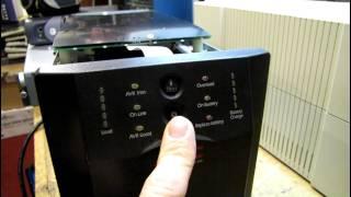 Smart-UPS 1500 from Ebay gets fresh batteries