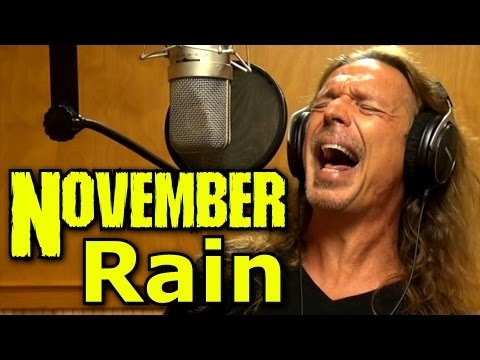 How To Sing - November Rain - Guns N Roses - Axl Rose - Cover - Ken Tamplin Vocal Academy