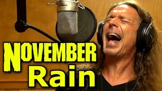How To Sing - November Rain - Guns N Roses - Axl Rose - Cover - Ken Tamplin Vocal Academy