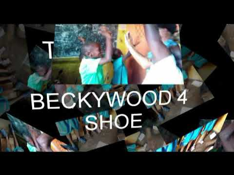 Shoes project in katanga slum @ hope for katanga kids project