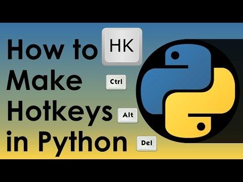 How to Make Hotkeys in Python - Nitratine