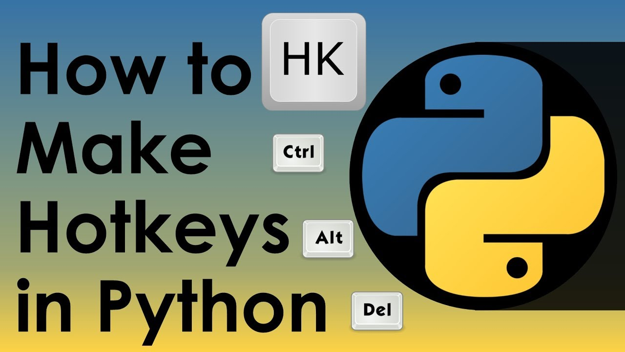 How to Make Hotkeys in Python - Nitratine