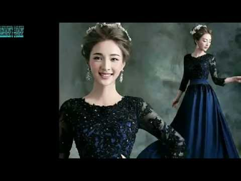 CHINA LATEST WEDDING GOWN DESIGN REVIEW || LATEST GOWN DESIGN COLLECTION 2016-2017