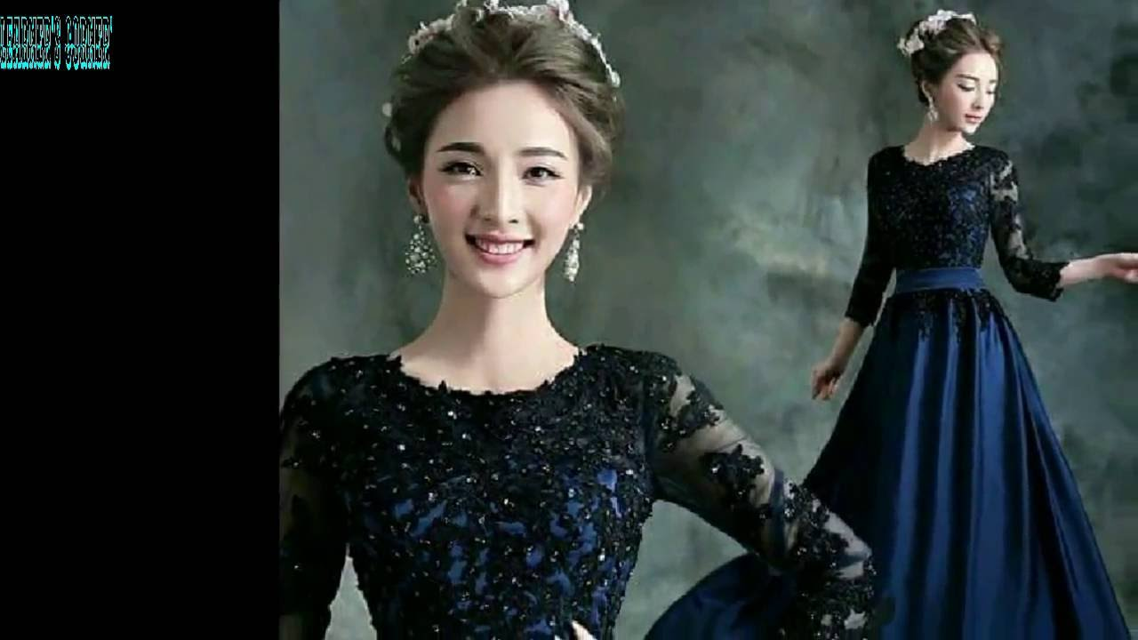 CHINA LATEST WEDDING GOWN DESIGN REVIEW